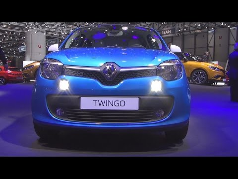 Renault Twingo intens ENERGY TCe 90 (2016) Exterior and Interior in 3D