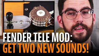 Watch the Trade Secrets Video, How to get two more sounds out of your Fender Telecaster