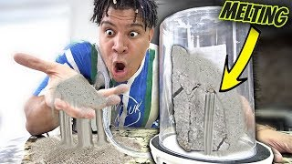 What Happens When You Put a ROCK in a Vacuum Chamber? *INSANE*
