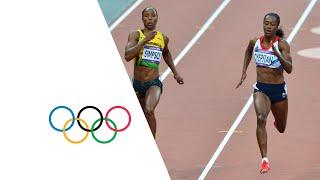 Women's 200m Semi-Finals - Adeoye, Simpson & Peter | London 2012 Olympics