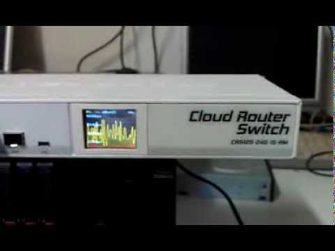 Mikrotik Cloud Switch Router Youtube