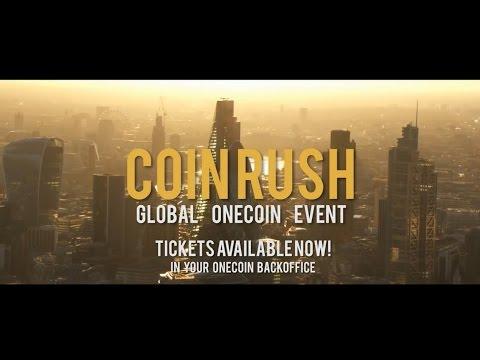 Coin Rush, OneCoin Global Event TEASER