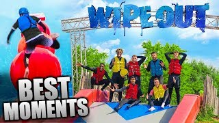 SIDEMEN TOTAL WIPEOUT CHALLENGE - Funniest Moments