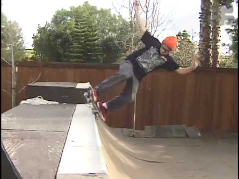 Ben Shreds Svitak's ramp