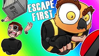 Escape First Funny Moments - Red Buttons and Moo's Salt Corner!