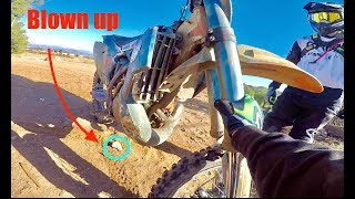 HOW TO BLOW YOUR BIKE UP IN 2 SECONDS!!