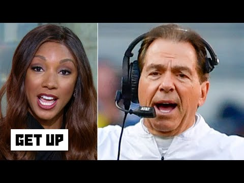 Alabama won't make the CFP unless a top-4 team loses - Maria Taylor | Get Up