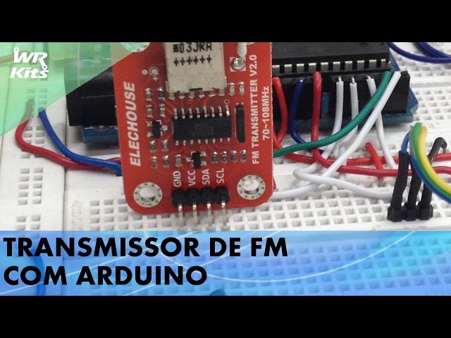 TRANSMISSOR FM COM ARDUINO