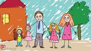 Family I Kids Vocabulary - Family Members I English For Kids
