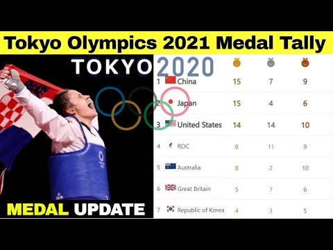 Tokyo Olympics 2021 Medal Tally | As of JULY 30 2021
