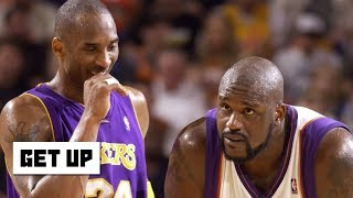 Kobe says he would have won 12 rings if Shaq stayed in shape | Get Up