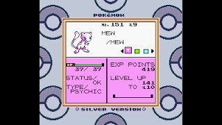 How to get ANY Pokemon in Pokemon Gold/Silver 3DS VC Coin Case Glitch [No Gameshark used]