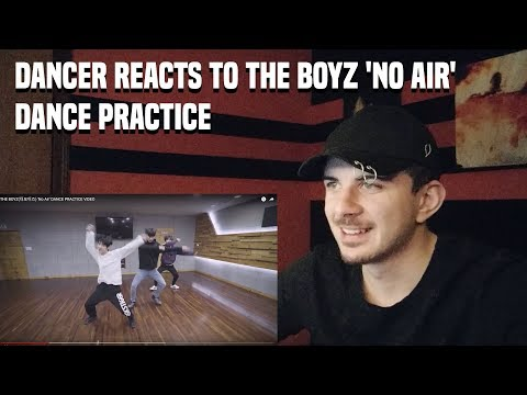 DANCER REACTS TO THE BOYZ(더보이즈) 'No Air' DANCE PRACTICE