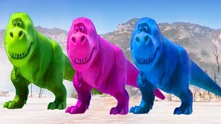 Learn Colors With ARLO THE GOOD DINOSAUR Funny Momment Videos #12 - Learning Video for Kids