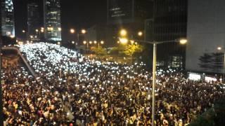 Hàng ngàn người biểu tình qua đêm ở Hong Kong
