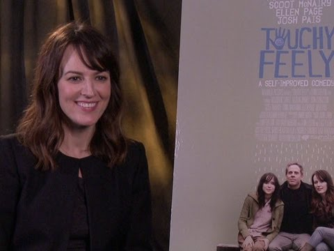 Rosemarie DeWitt Talks 'Touchy Feely' - YouTube
