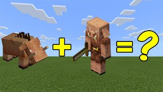 I Combined a Hoglin and a Piglin in Minecraft - here's WHAT Happened...