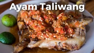 Indonesian Food - INSANELY Spicy Grilled Chicken (Ayam Taliwang) in Jakarta, Indonesia!