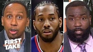 Stephen A. and Kendrick Perkins are concerned about the Clippers | First Take