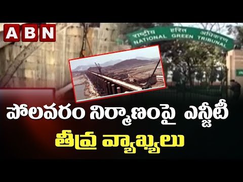 NGT severe comments on Polavaram construction