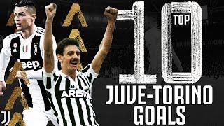 ⚽ Top 10 Juventus Goals v Torino! | Ft. Ian Rush, Andrea Pirlo and Cristiano Ronaldo! | Juventus
