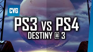 Destiny Gameplay - PS3 vs PS4 Comparison | Destiny at 3