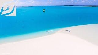 Best Kitesurfing Island in the world - Aitutaki, Cook Islands