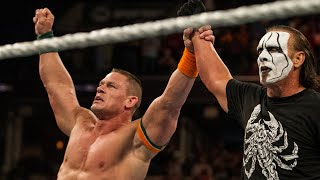 Sting and John Cena unite to defeat Seth Rollins and Big Show: Raw, Sept. 14, 2015