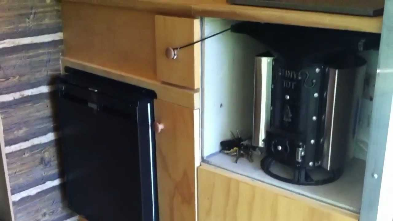 Tiny Camper 6 X 10 Cargo Trailer To Camper Conversion
