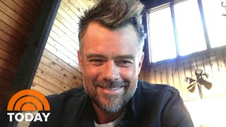 Josh Duhamel Talks Quarantine In The Wilderness And Film 'Think Like A Dog' | TODAY
