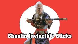 Wu Tang Collection - Shaolin Invincible Sticks
