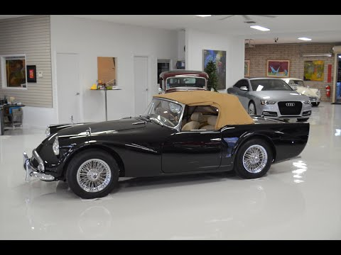 video 1961 Daimler Dart, SP250