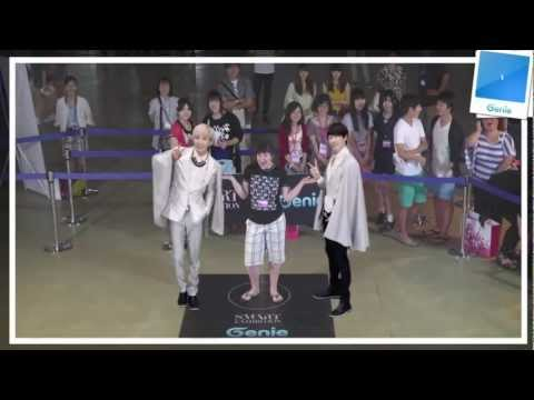 Genie AR SHOW with Super Junior Episode 06 @ S.M.ART EXHIBITION in SEOUL COEX (10~19 AUG. 2012)