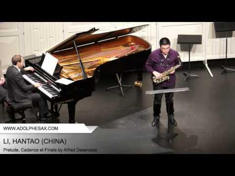 Dinant 2014 - Li, Hantao - Prelude, Cadence et Finale by Alfred Desenclos