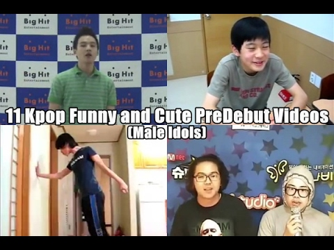 11 Kpop Funny and Cute PreDebut Videos