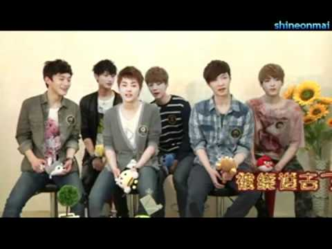 EXO-M Lu Han and Chen say tongue twister (MUST WATCH!)