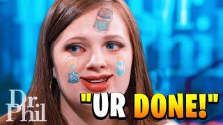 Kid tells Dr. Phil she LIVES in FORTNITE