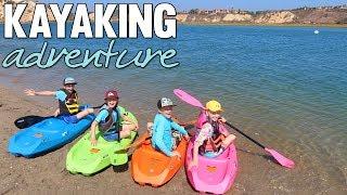 Kids Kayaking Adventure    Mommy Monday