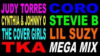 Freestyle MegaMix - Judy Torres - Cynthia & Johnny O - TKA - (DJ Paul S)