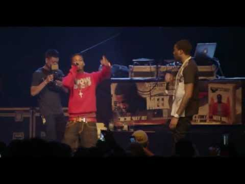 Lil Snupe Freestyles Live At Meek Mill's ''Dreams Come True'' Tour In Philly
