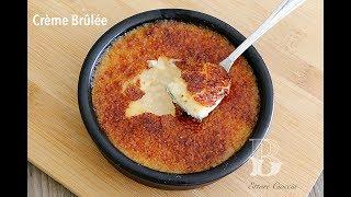 Como hacer una deliciosa Crème Brûlée o Crema Quemada