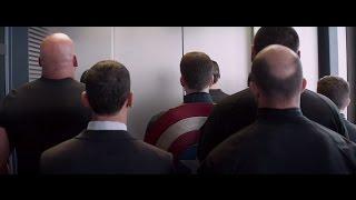 Captain America 2 - Elevator scene ( HD )