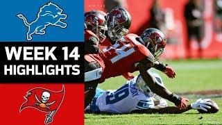 Lions vs. Buccaneers | NFL Week 14 Game Highlights