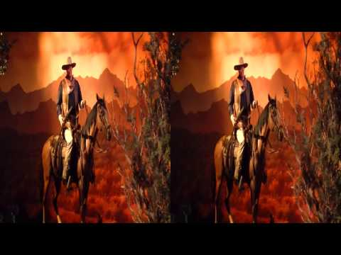 The Great Movies Ride in 3D - Hollywood Studios - MGM - 3D Side By Side