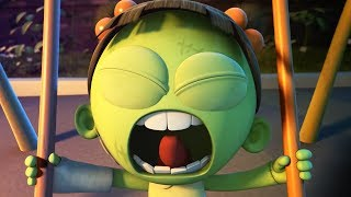 Funny Animated Cartoon   Spookiz Brand New Scary Swing Jump Challenge   Cartoon for Children