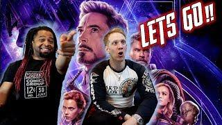 Marvel Studios' Avengers: Endgame - Official Trailer Reaction & Review!!!
