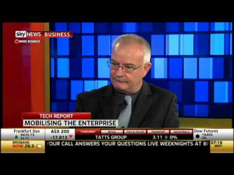 BlinkMobile Interactive's Darren Besgrove Discusses Enterprise Mobility On Sky News