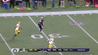 Josh Gordon 55-Yard Touchdown | Patriots vs Packers