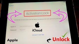 June,2019 Unlock!!! Activation lOck iPHOne iClouD!! Remove!Bypass! Permanent Unlock Apple's iPhone