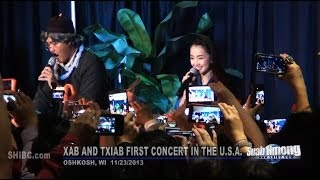 Repeat youtube video Suab Hmong E-News: Episode 1 - Xab and Txiab First Concert in the U.S.A.